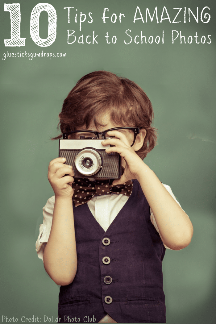 10 Tips for Fun Back to School Photos