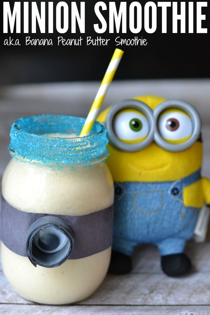 Minion Smoothie - Fun Snack for Kids
