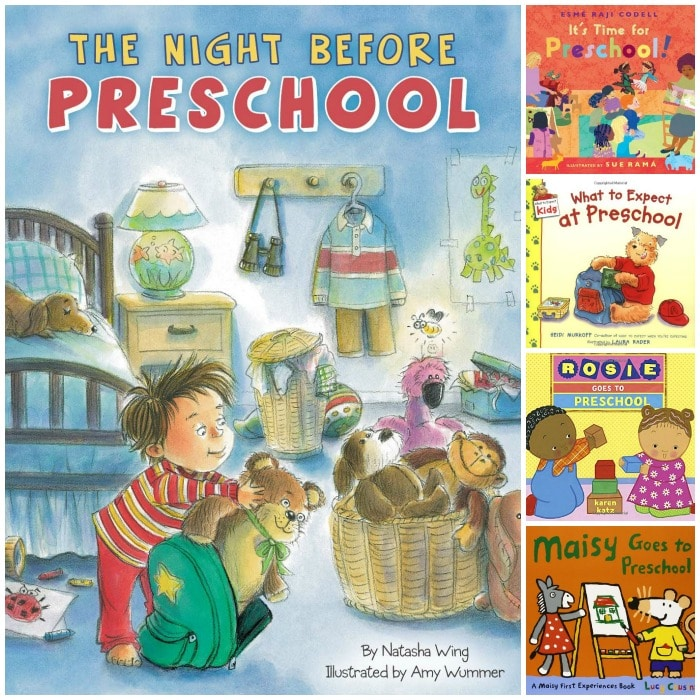 Books About the First Day of Preschool