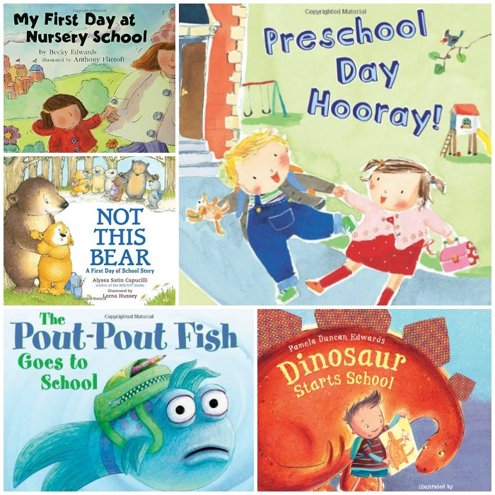 Encouraging Books About the First Day of Preschool