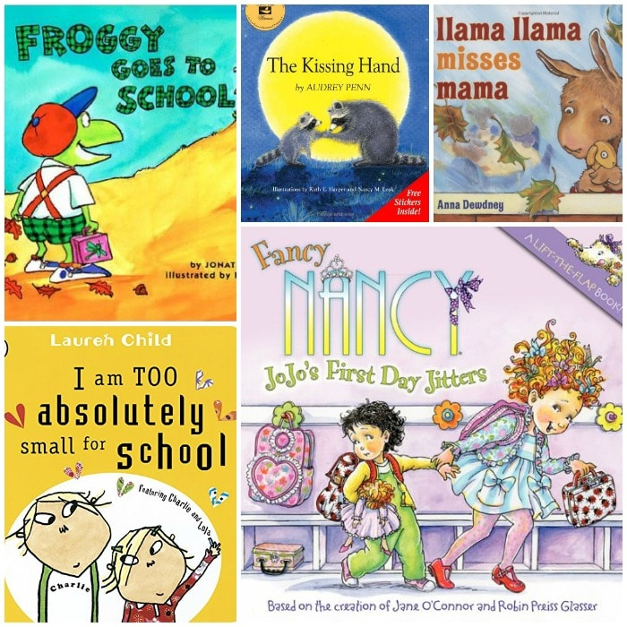 Preschool First Day of School Books