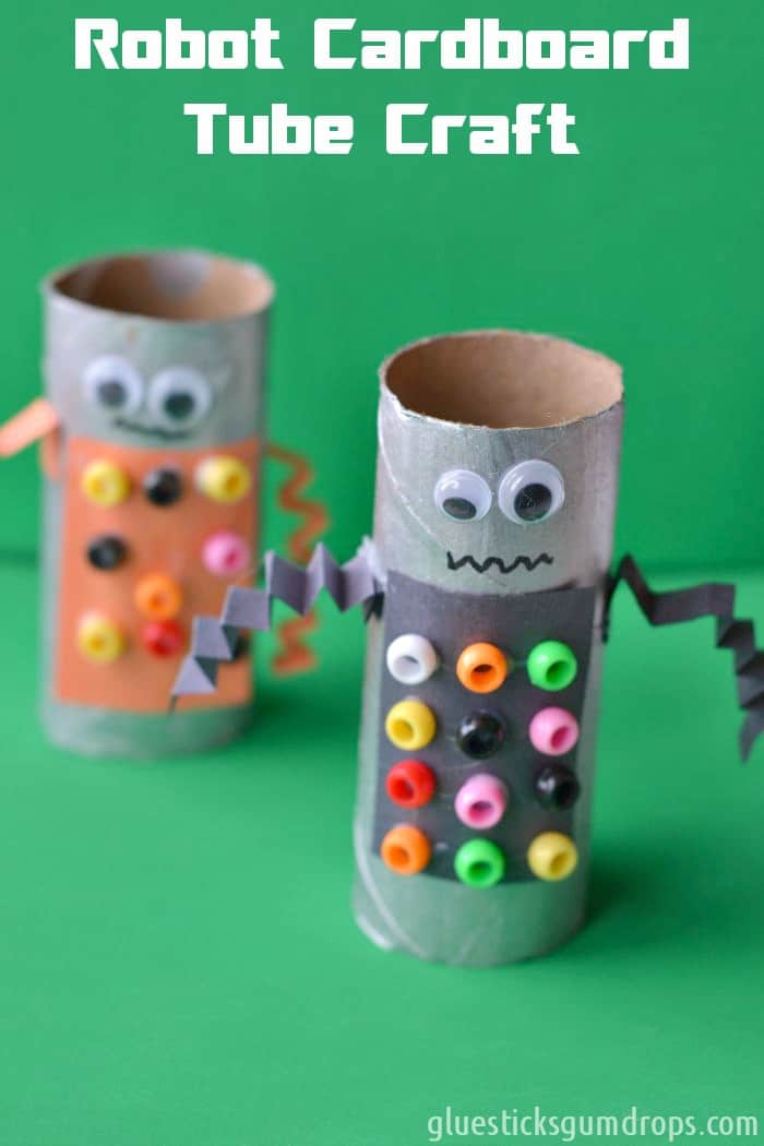 Robot Crafts For Kids