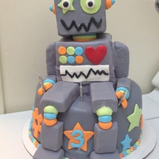 Robot Cake Ideas