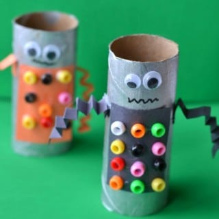 Robot Toilet Paper Roll Craft