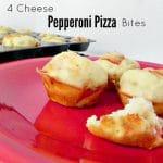 4 Cheese Pepperoni Pizza Bites
