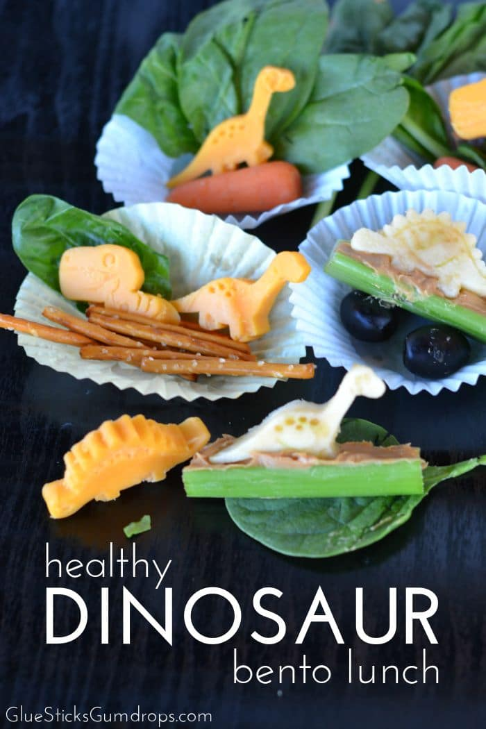 Dinosaur Bento Lunch for Kids