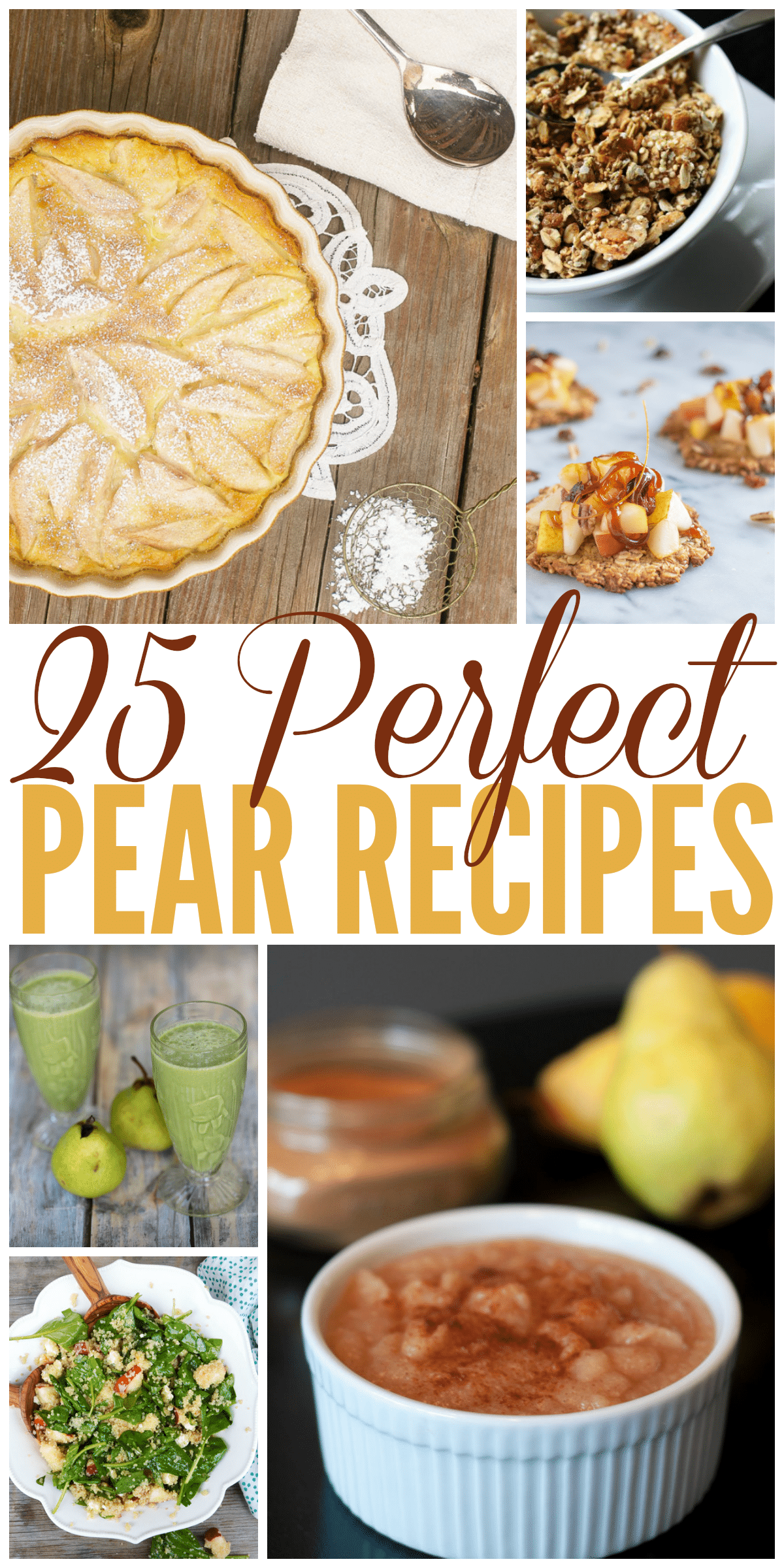 25 Perfect Pear Recipes for Fall