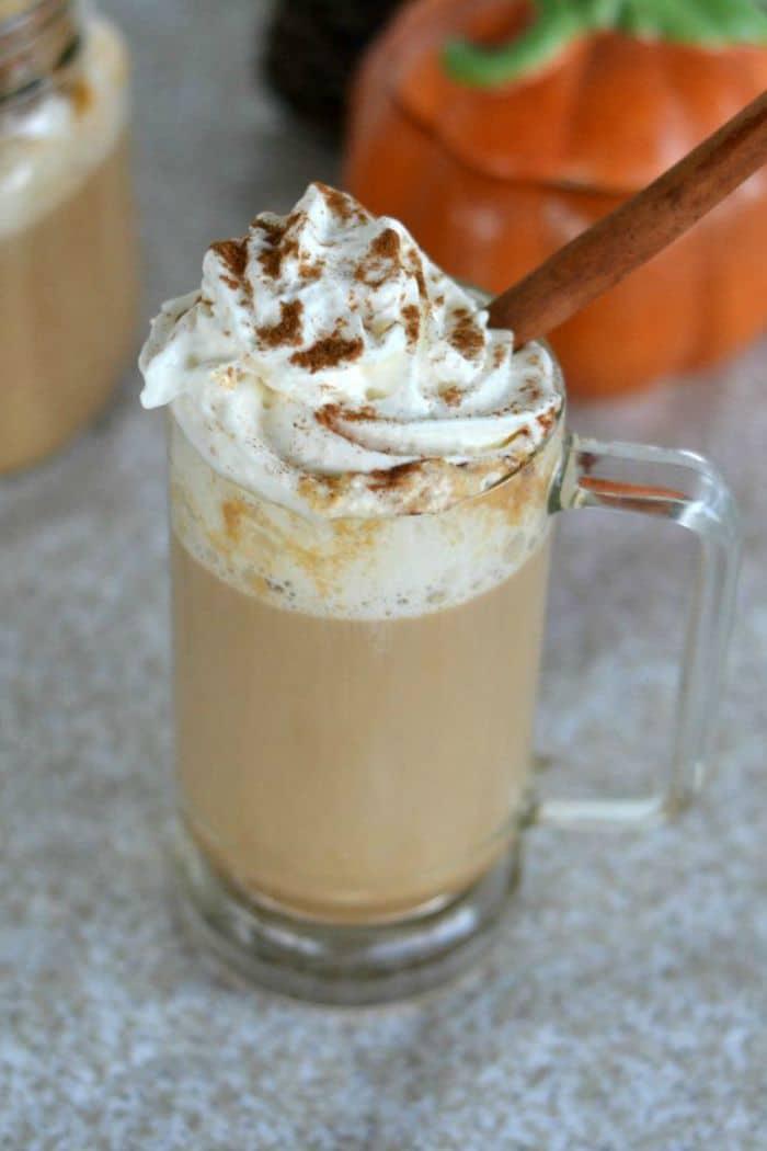 Starbucks Copycat Recipe for Pumpkin Latte