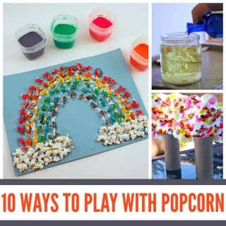 10 Ways to Play with Popcorn