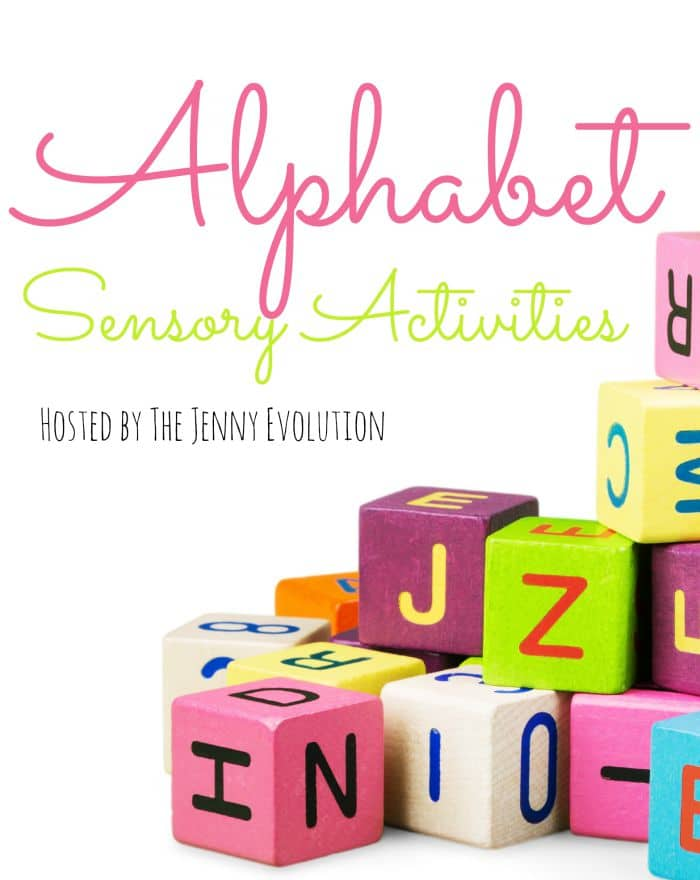 Sensory Alphabet Series hosted by The Jenny Evolution
