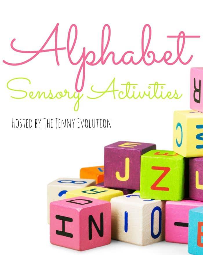 Sensory Alphabet Series hosted by The Jenny Evolution