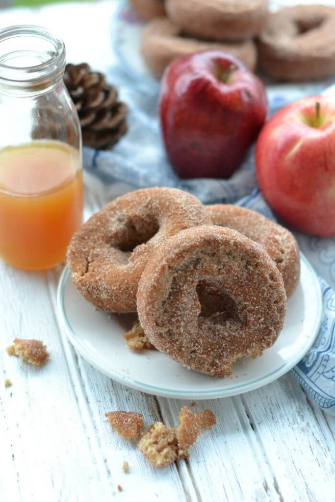 Apple Cider Donuts for Fall
