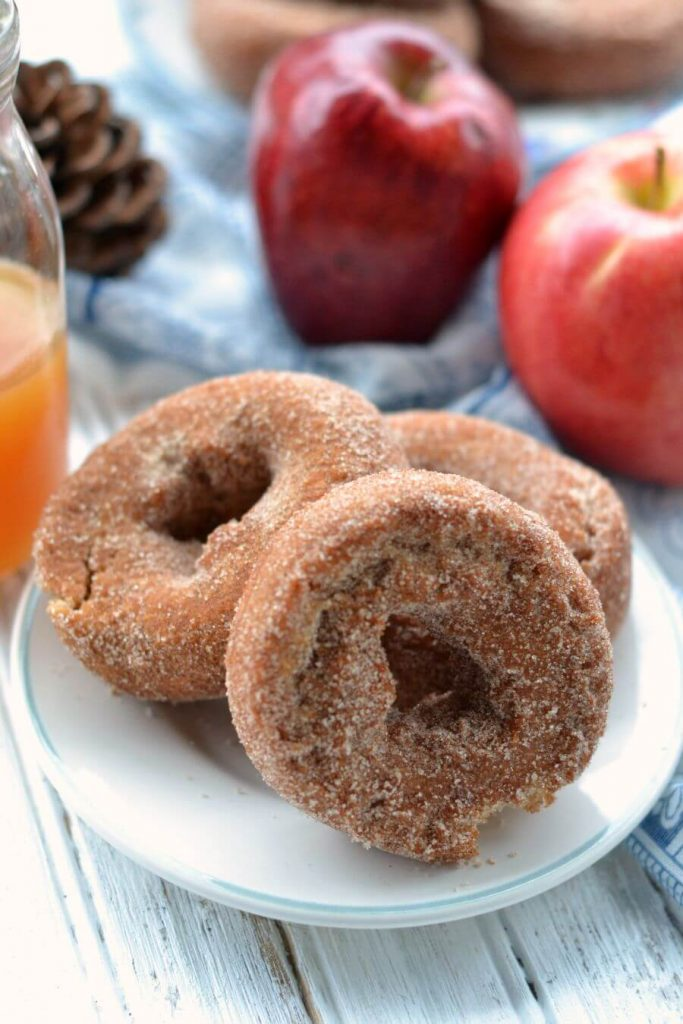 Apple Cider Donuts - the perfect fall breakfast or dessert!