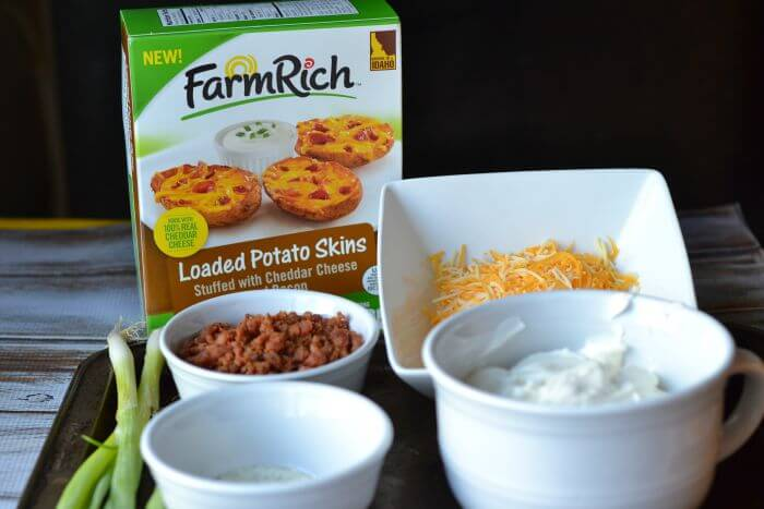Ingredients for Bacon Cheddar Ranch Dip