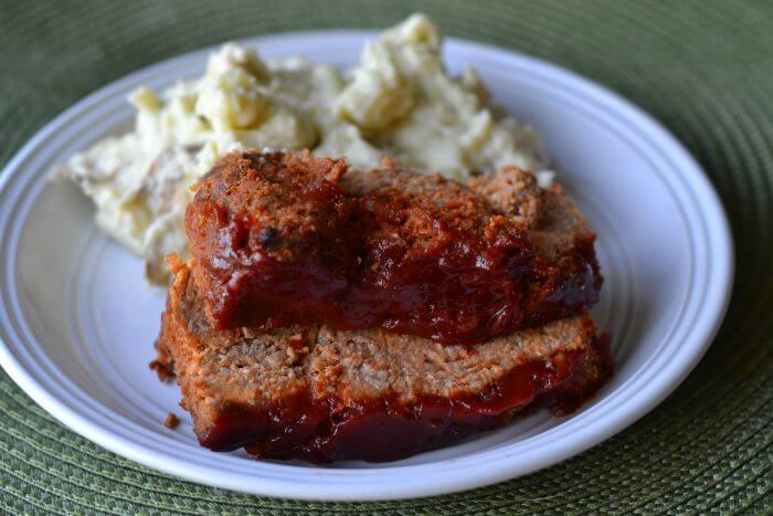 Meatloaf with Manwich Topping