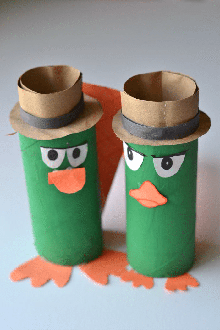 Perry the Platypus Craft