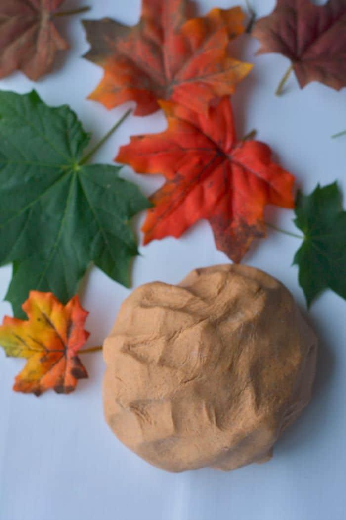 Pumpkin Pie Playdough Recipe
