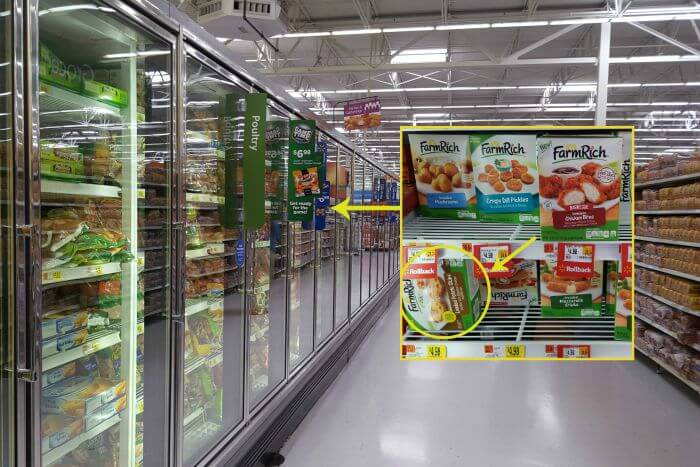 Farm Rich products available at Walmart