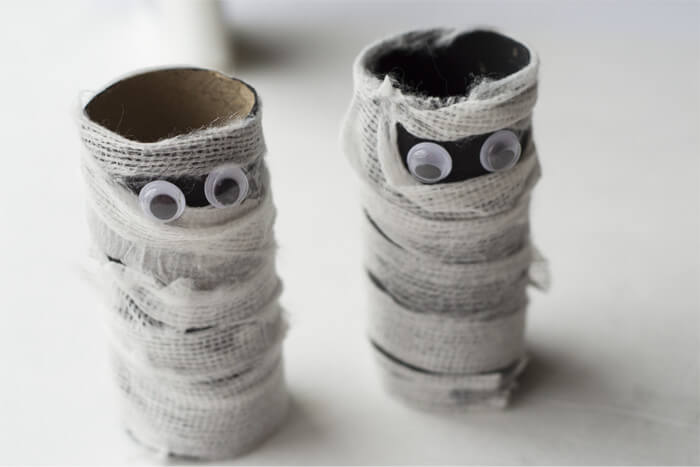 Mummy Toilet Paper Roll Craft