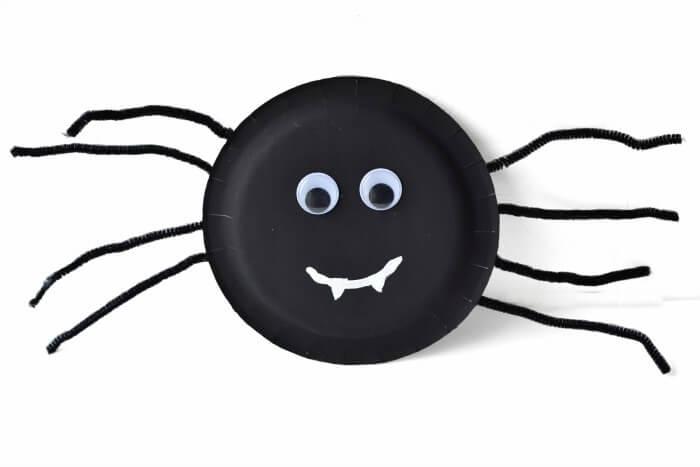 Spider Halloween Craft for Kids