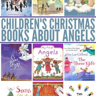 Kids Christmas Books About Angels