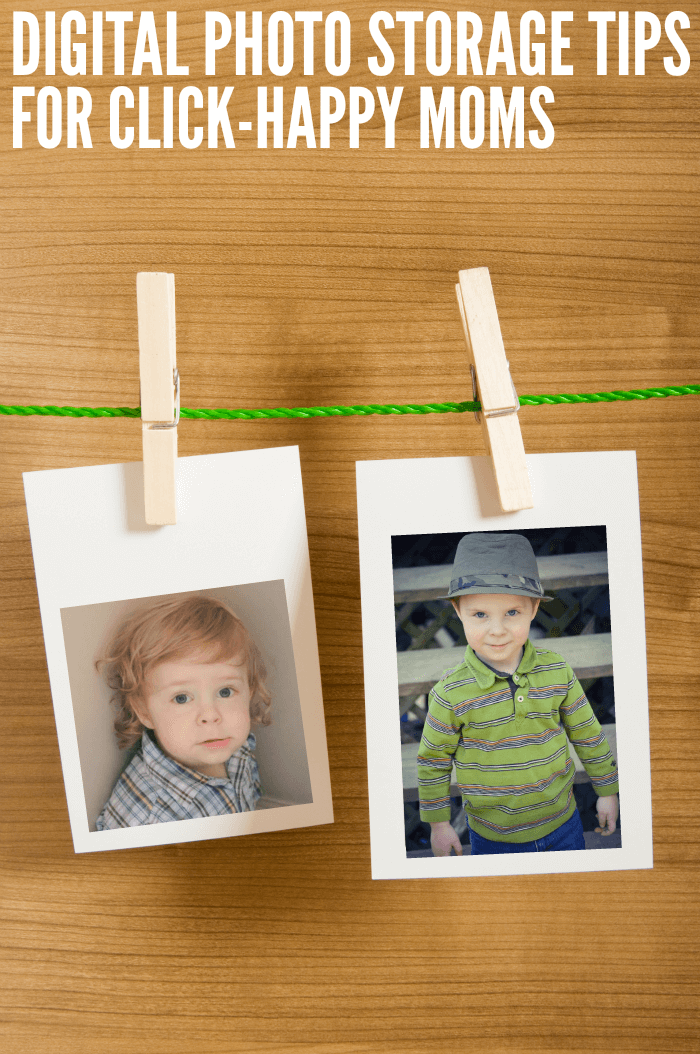 Digital Photo Storage Tips for Click-Happy Moms (and Dads!)