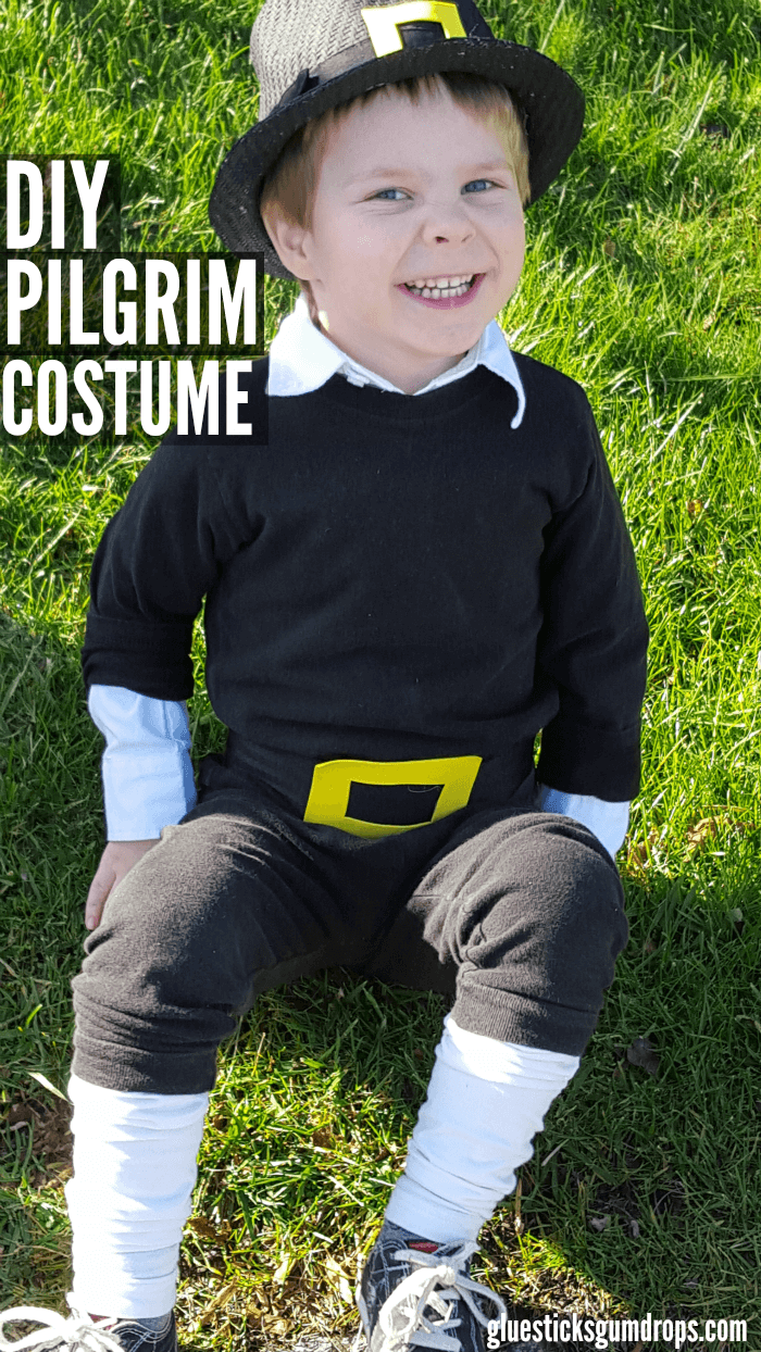 How to pull together a diy pilgrim costume in a pinch