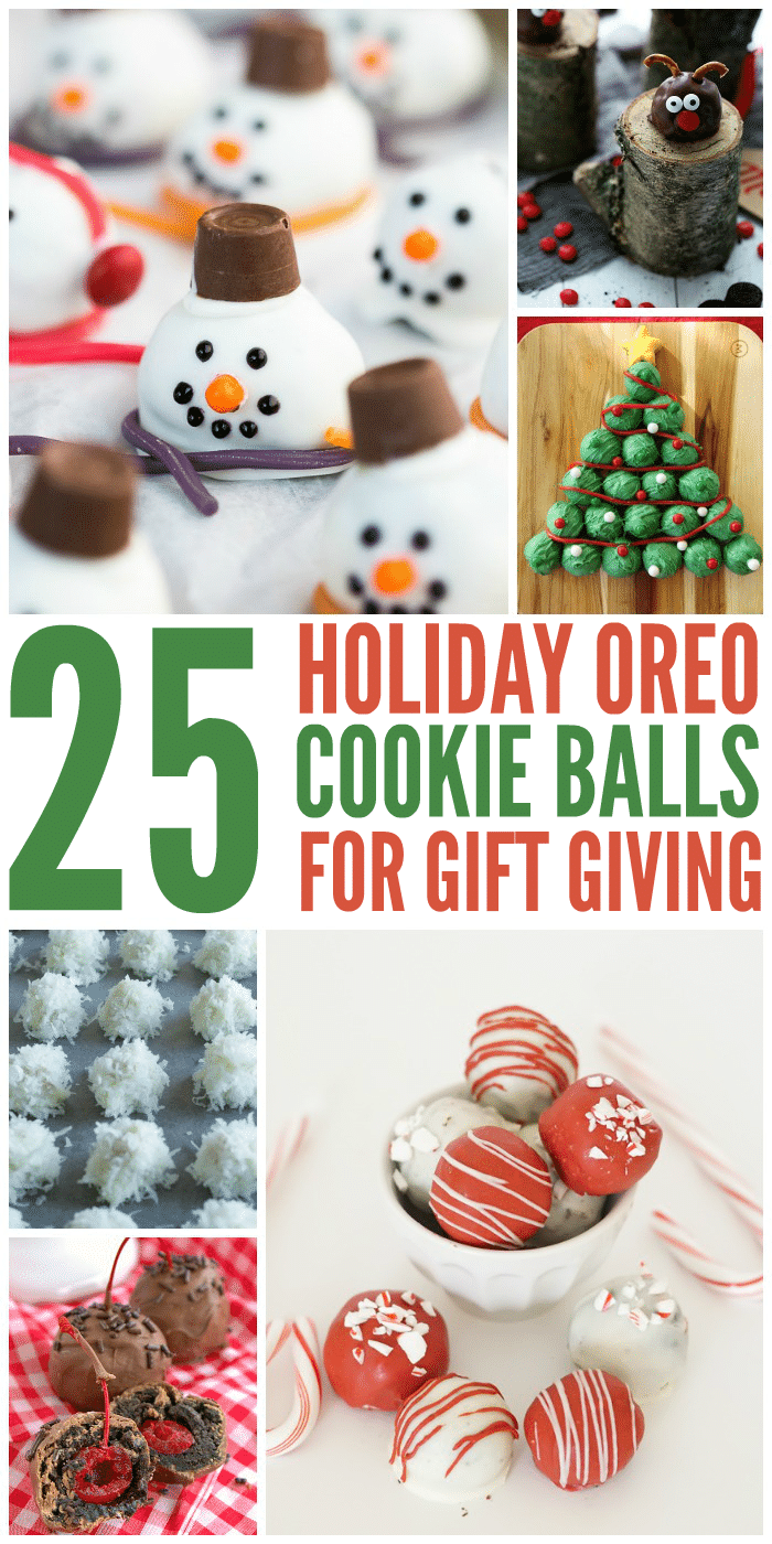 25 OREO Cookie Ball Recipes for the Holidays