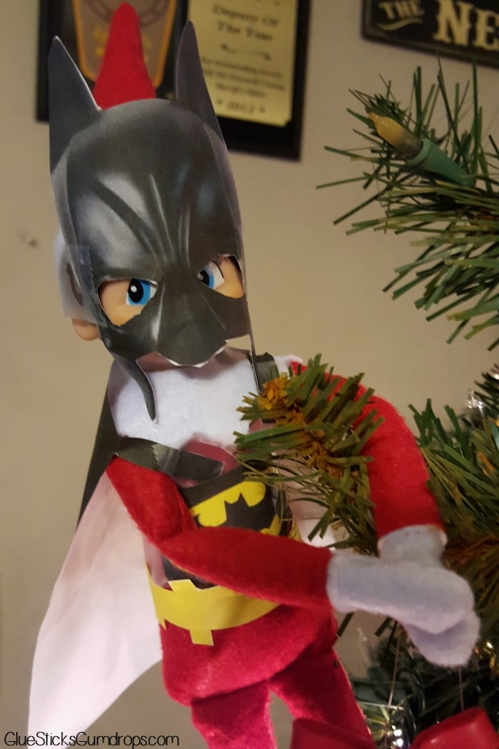 batman elf on the shelf 1