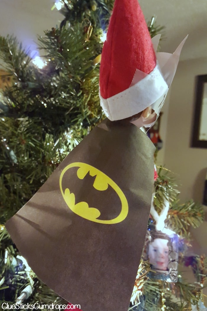 batman elf on the shelf 2