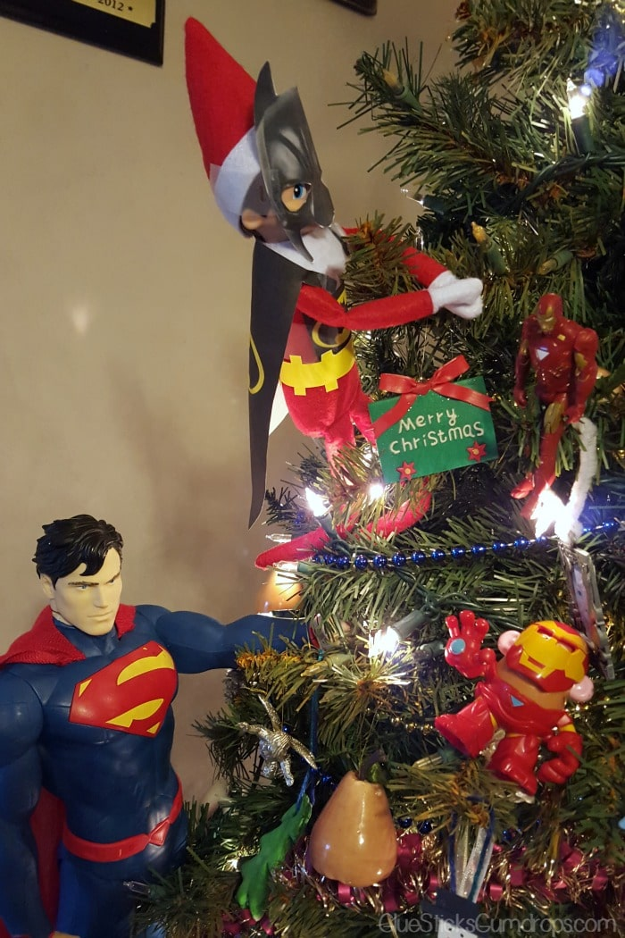 batman elf on the shelf 3