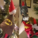 Batman Elf on the Shelf