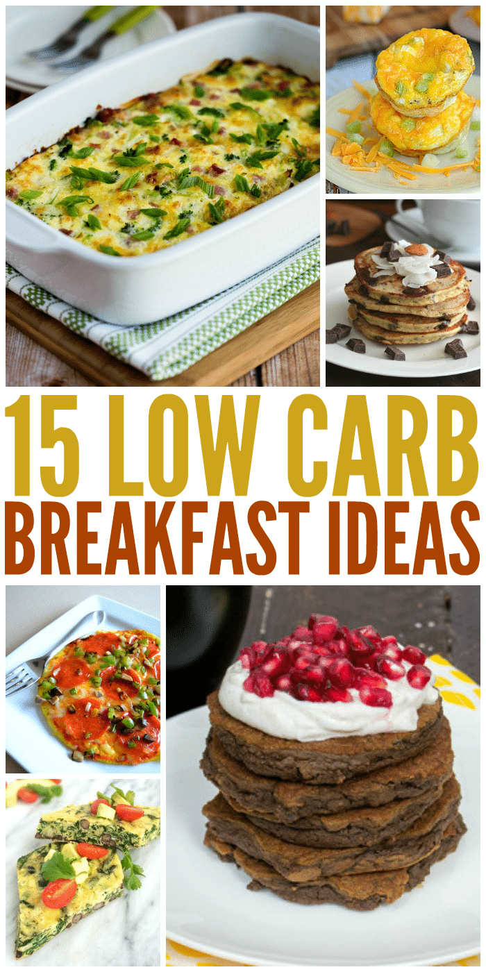 15 Seriously Yummy Low Carb Breakfast Ideas