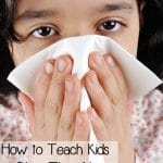 How to Teach Kids to Blow Their Noses