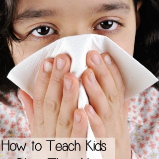 Tips for Teaching Kids to Blow Their Noses