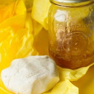 Honey Playdough – Celebrating Winnie the Pooh Day