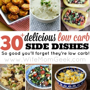 low carb side dishes sidebar