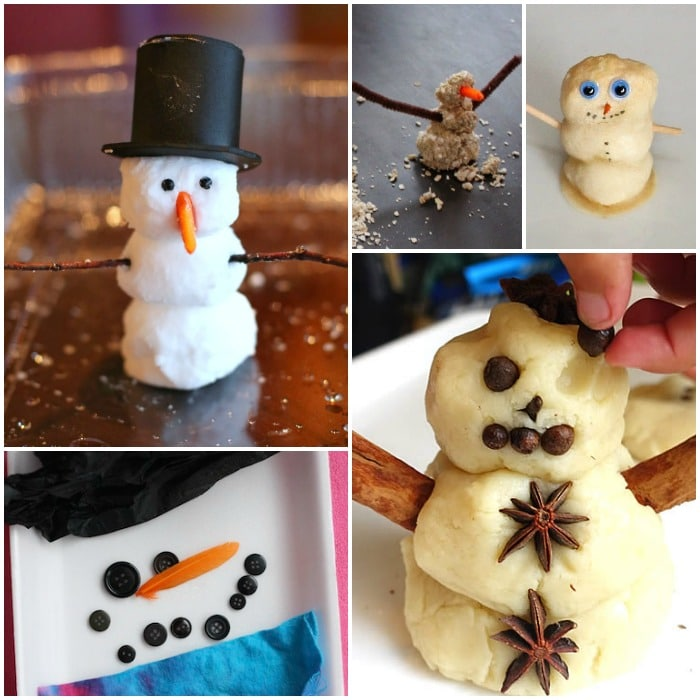 snowman sensory activities 3