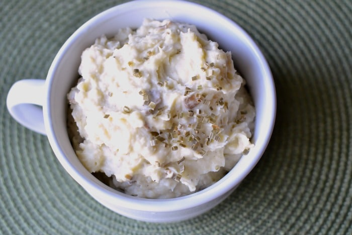 sour cream mashed potatoes 2