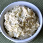 Butter and Sour Cream Mashed Potatoes