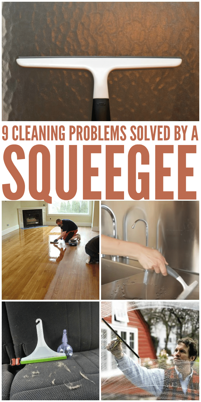 9 Ways to Clean with a Squeegee