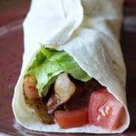 Low Carb BLT Wrap