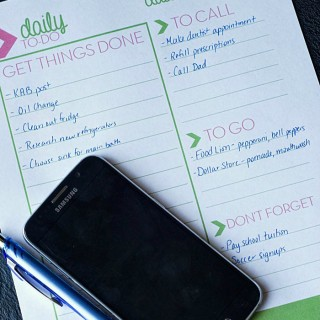 Free Printable Daily To-Do List