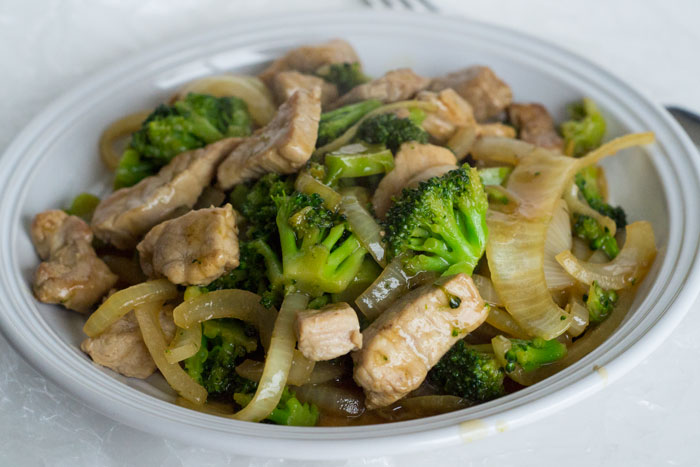 30 Minute Meal: Pork & Broccoli Stir Fry