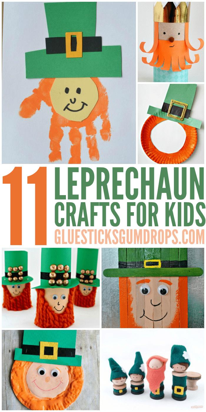 11 Lucky Leprechaun Crafts for Kids