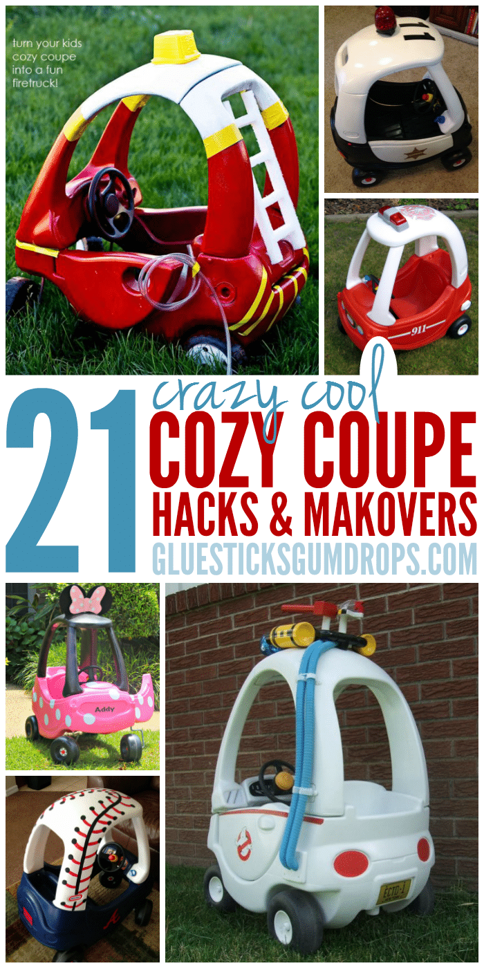 21 Cozy Coupe Hacks and Makeovers Your Kids Will Go Crazy For