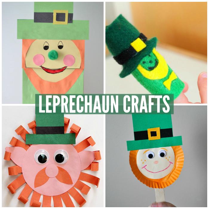 Leprechaun Crafts for Kids
