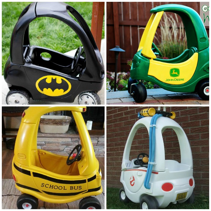 cozy coupe makeovers your kids will love
