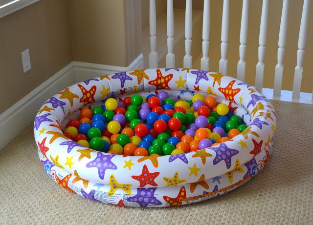 Kiddie Pool Easter Basket