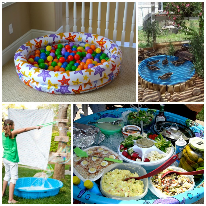 18 Ridiculously Awesome Things To Do With A Kiddie Pool Glue Sticks And Gumdrops